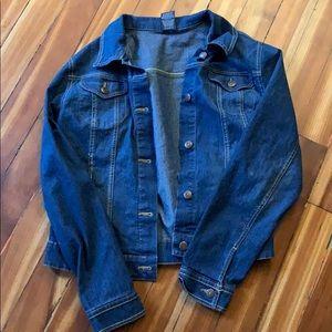 Like new dark blue wash denim jacket